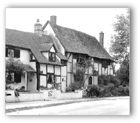 Blewbury Cottages � Francis Frith Collection